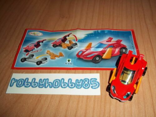 FF030 Auto Red Bpz Kinder Surprise Italy 2014//2015 Navika Spy-Cars