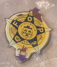 Dayton Police Fraternal Order of Police Patch Lapel Pin