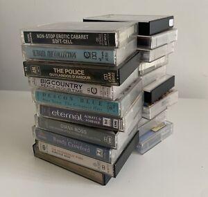 Cassette Tape Bundle Job lot Classic 1980's Pop Rock Bundle Job Lot X 20 Beatles