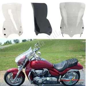 Front-Windshield-Windscreen-w-Bracket-For-Suzuki-Boulevard-M50-M90-M1500R-M1800R