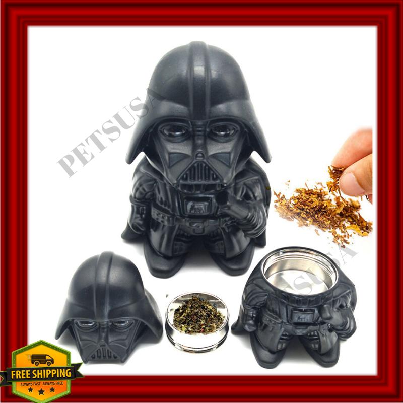 Star Wars Spice Herb Tobacco 3 Part Grinder