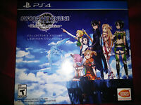 Ps4 Sword Art Online: Hollow Realization Collector's Edition  new Playstation 4
