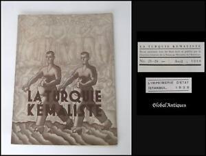 1938-VINTAGE-LA-TURQUIE-KEMALISTE-MAGAZINE-ANKARA