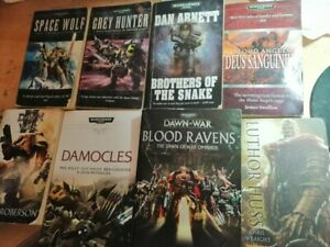 Warhammer-40k-books-bundle-8-Books