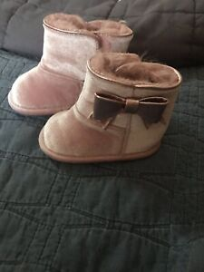 Aldo Pink Baby Boots Shoes With