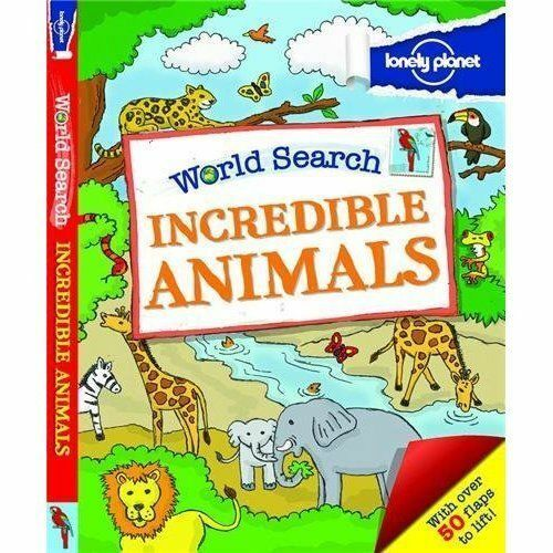 1 of 1 - Lonely Planet, World Search - Incredible Animals (Lonely Planet Kids), Very Good