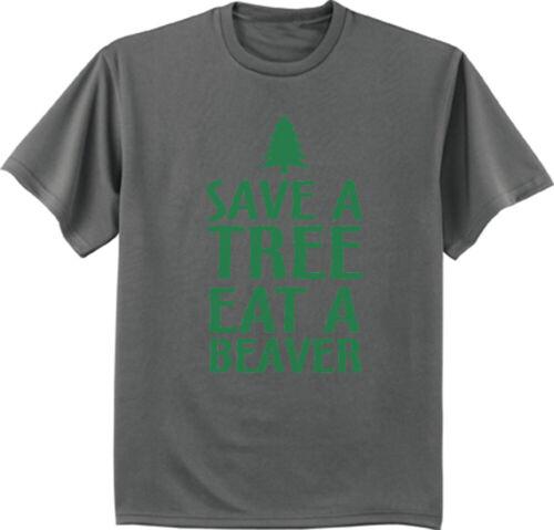 Funny Shirts Mens Graphic Tees Guy Gifts Nature Beaver Clothing Apparel