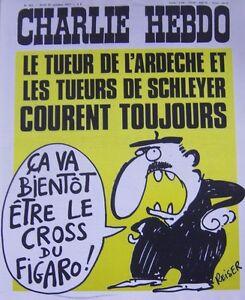 Charlie-View-No-363-Octobre-1977-Reiser-the-Killer-of-Ardeche-Run-Mens-Always