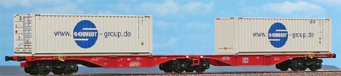 Acme 40354 Vagón Doble Contenedor Schmidt bajo Petición para Cambio de Eje