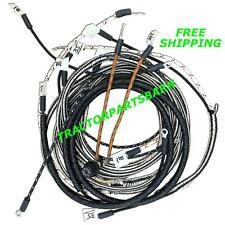 item 2 ih farmall super a av b bn restoration quality wiring harness 1 wire  alternator -ih farmall super a av b bn restoration quality wiring harness 1  wire