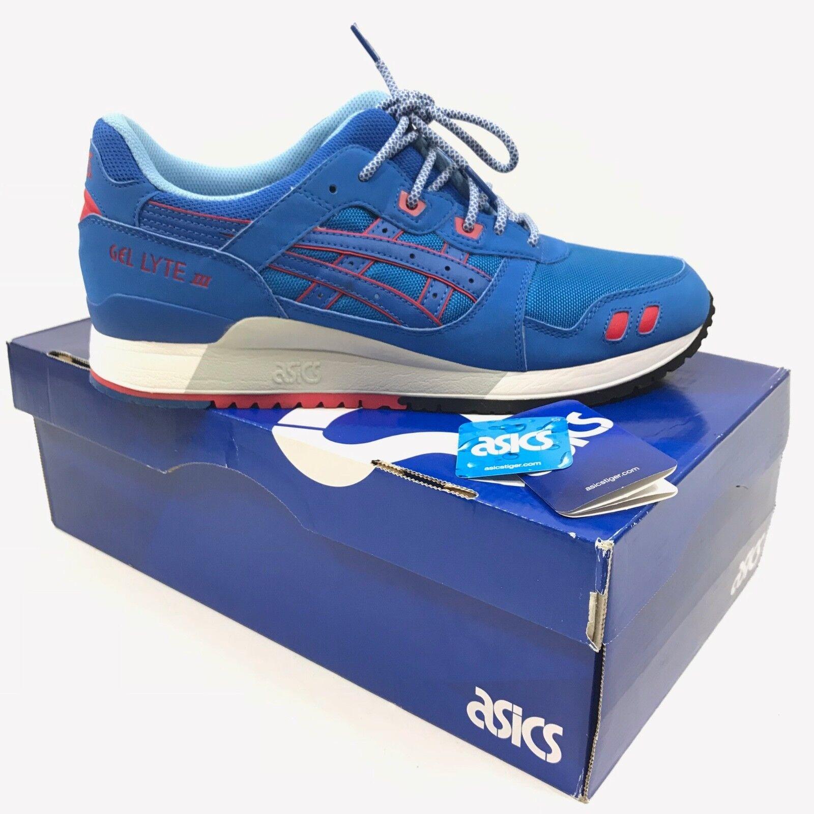 Asics Uomo Gel-Lyte III 3 Athletic Running Scarpe da Ginnastica Mid Blue Sz 11.5 H637Y-4242