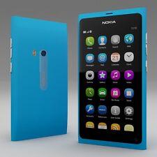 BRAND NEW NOKIA N9 CYAN BLUE SIMFREE UNLOCKED - NEXT DAY UK