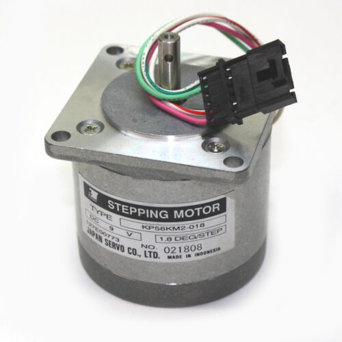 NEW Stepping Motor by Japan Servo Co KP56KM2-018 1.8 deg//step 2.2 diameter 9V DC