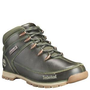 heredar posponer Magistrado  Timberland Euro Sprint Medio Caminante Grano Completo Verde Oscuro Botas  Montaña | eBay