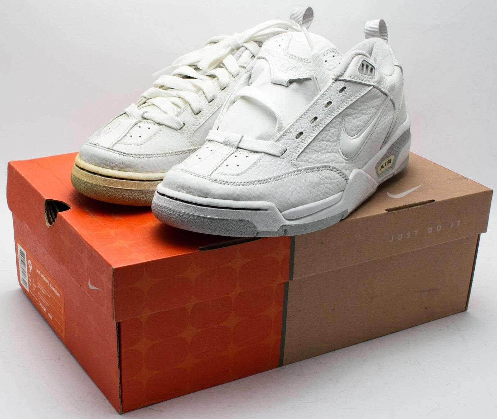 Nike homme Vintage 2018 chaussures 7.5  930138-111 blanc/Gris sz. 7.5 chaussures e211e6