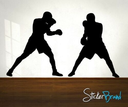 Vinyl Wall Decal Sticker Boxer Boxing Fight #766
