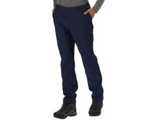 Regatta-Mens-Fenton-Warm-Backed-Windproof-Water-Repellent-Softshell-Trousers