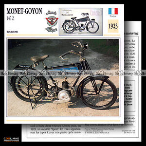 015-09-MONET-GOYON-MODEL-147-Z-1923-1920-039-s-Fiche-Moto-Classic-Motorcycle-Card