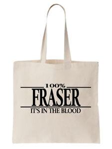 Fraser-Family-Name-Tote-Shoulder-Bag-Shopper-Surname-Gift-Gift-Tree-Cool