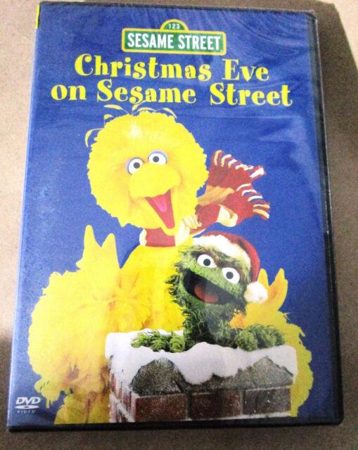 Christmas Eve On Sesame Street.2006 Christmas Eve On Sesame Street Original All Region Dvd Retired Sealed