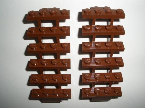 TREPPEN   Neuware   //////// ////////   LEGO  2  braune  LEITERN