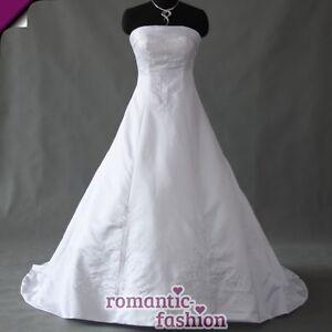 Elegantes-Brautkleid-Hochzeitskleid-Weiss-oder-Creme-Groesse-34-bis-54-NEU-W059