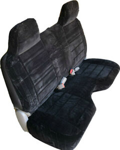 Marvelous Details About Triple Stitched Thick Black Bench Seat Cover Large Notched Cushion Custom Fit Inzonedesignstudio Interior Chair Design Inzonedesignstudiocom