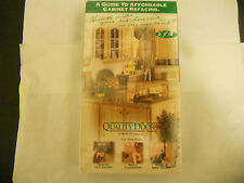 A Guide to Affordable Cabinet Refacing: Quality Doors (VHS, 1999) NEW