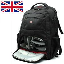 Swiss Gear Backpack DSLR SLR TLR Digital Camera Bag 16 inch Laptop Backpack--A
