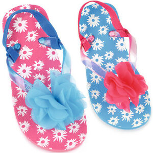 a5fc0df8c Image is loading TODDLER-INFANT-GIRLS-FLORAL-BUTTERFLY-SUMMER-SANDALS-FLIP-