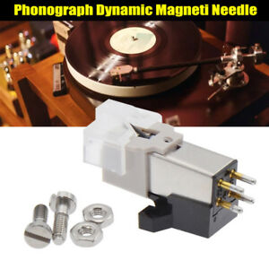 Dynamic-Magnetic-Needle-Stylus-Record-Player-Metal-for-Audio-Technica-AT-3600L