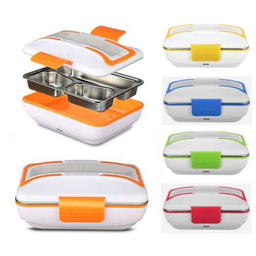 12V//110V Portable Electric Heated Food Warmer Container Lunch Meal Lunchbox US