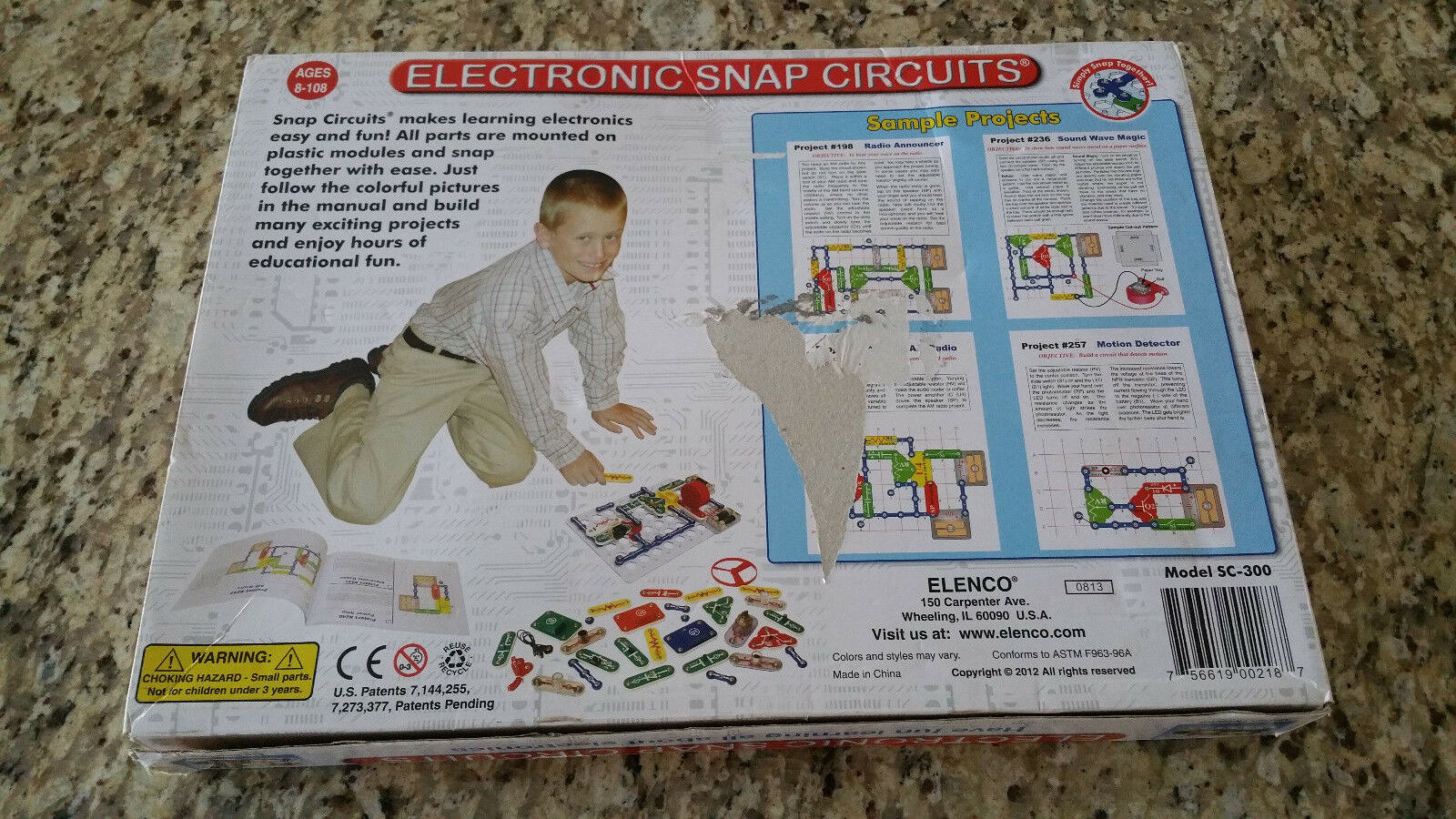 Elenco Snap Circuits 300 Experiments Kids Electronics Sc Ebay Pro Sc500 Discovery Kit Science
