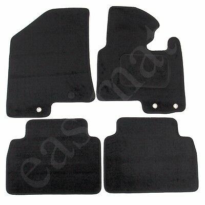 3 FIXING HOLES Tailored Car Floor Mats Red KIA SPORTAGE 2010 on