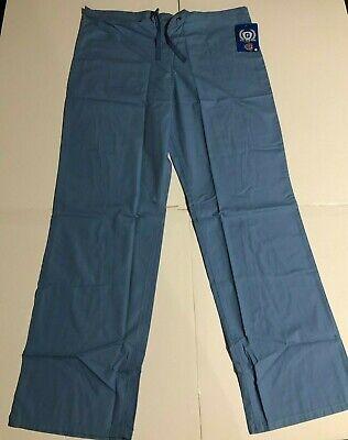 Scrub Bottom GelScrubs Gray Scrub Bottom Tall Pants 43 Inches Size Small Unisex