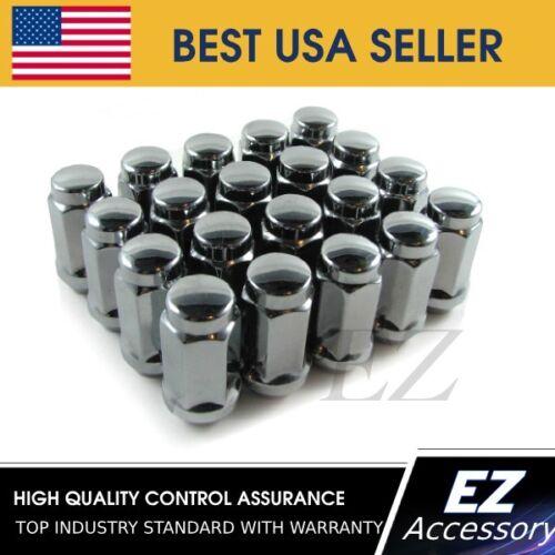 Lug Nuts Bulge Acorn 12x1.75 Lugs 20 Ford Lincoln Strength