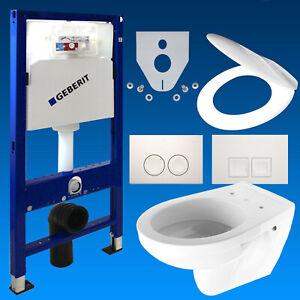 Delta Drückerplatte Schallschutzset Geberit Duofix Basic Vorwandelement WC inkl