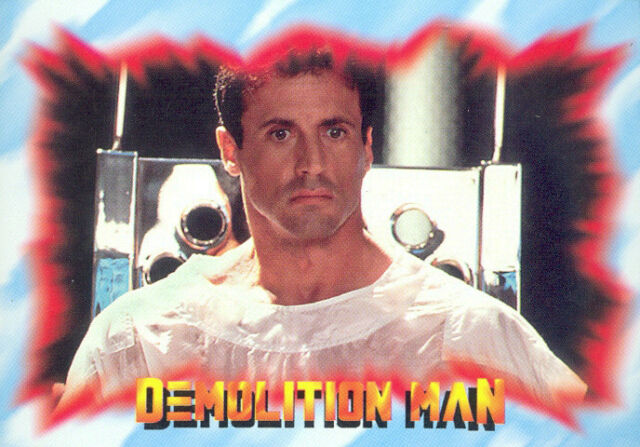 One Packet Skybox Cards 1993 Demolition Man Movie Trading Cards