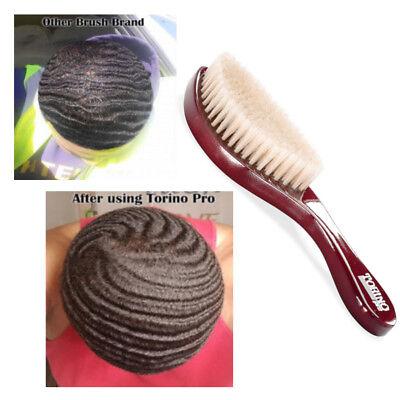 Torino Pro Wave Hair Brush King #490 Medium Curve 100% Boar Bristle Wave  Wolving 615541609843   eBay