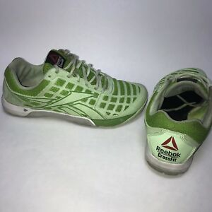 6e8ba789982a Women s Reebok Crossfit Nano CF74 Shoes Size US 10 Green Duracage