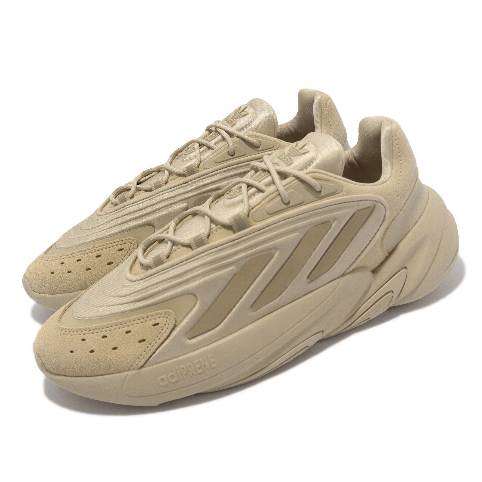 adidas Originals Ozelia Brown Khaki Men Unisex Casual Lifestyle Shoes GV7685