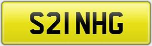 SINGH-QUALITY-SHORT-2-DIGIT-OLD-CAR-REG-NUMBER-PLATE-S21-NHG-FEES-PAID-SIKH