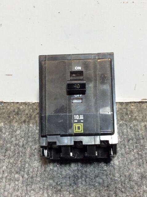 Used Square D QOB340 Circuit Breaker *1 Year Warranty*