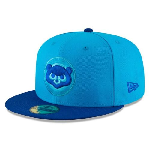 Chicago Cubs New Era Blue//Blue 2018 Players/' Weekend On-Field 59FIFTY Fitted Hat
