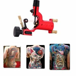 Details about Red Rotary Tattoo Motor Machine Guns Dragonfly Shader Liner  For Kit Needle Ink