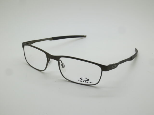 1f69125143 NEW Authentic OAKLEY STEEL PLATE OX3222-0454 Powder Pewter 54mm Rx  Eyeglasses