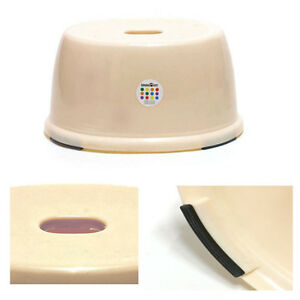 Non Slipping Plastic Step Chair Stool Portable Small Rv