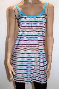 Sweetacacia-Brand-Blue-ZIG-ZAG-Print-Sleeve-Dress-Size-10-BNWT-SE90