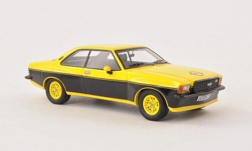 Opel Commodore B Steinmetz jaune/noir 1/43 NEO