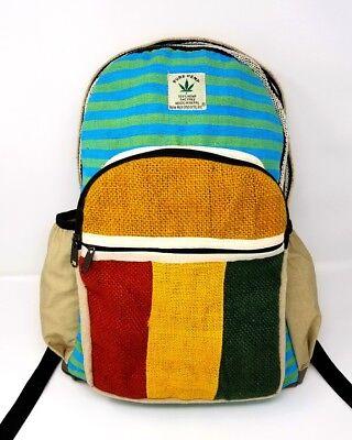 "Pure Hemp 100/% THC Free Backpack OWL Design Backpack 18/""H 12/""W"